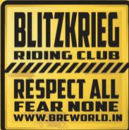 BLITZKRIEG RIDING CLUB